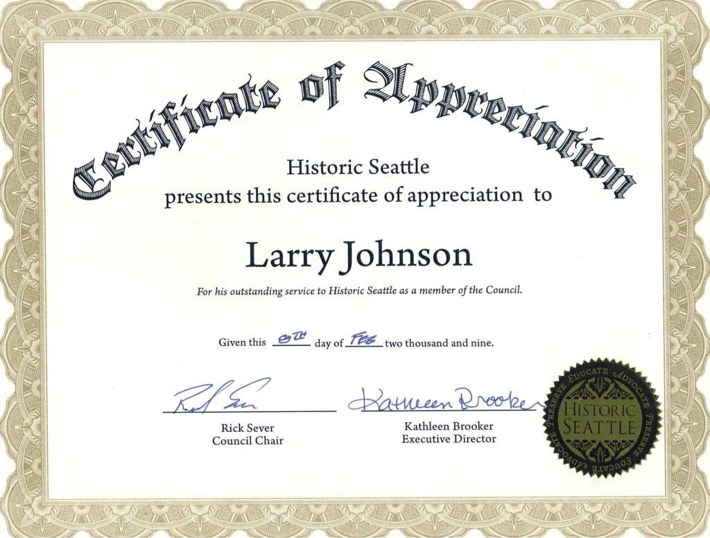 Appreciation Certificate Template For Teachers