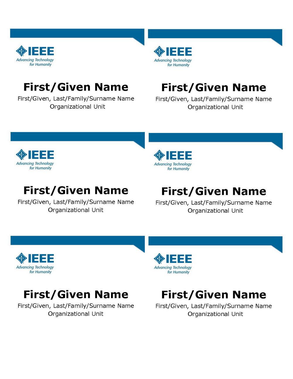 Avery Name Tag Template 5390