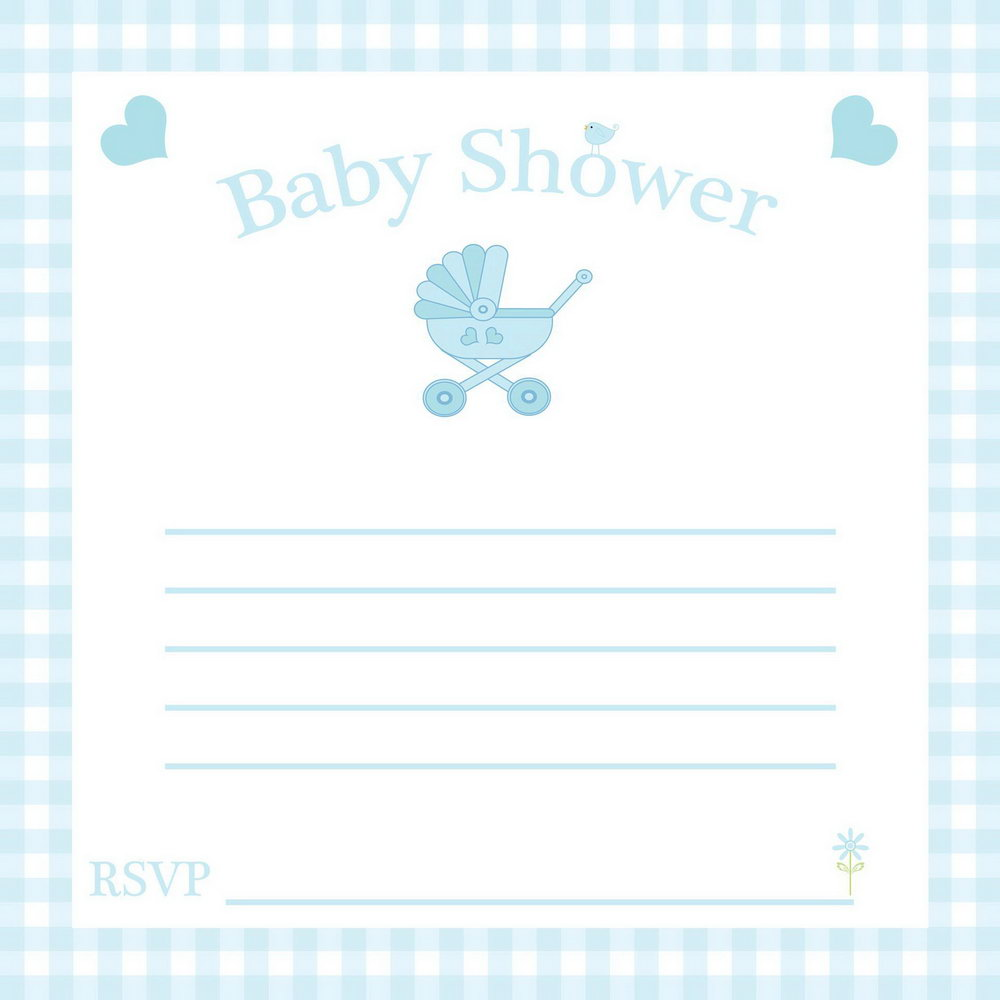 Baby Shower Invitations Templates Microsoft Word