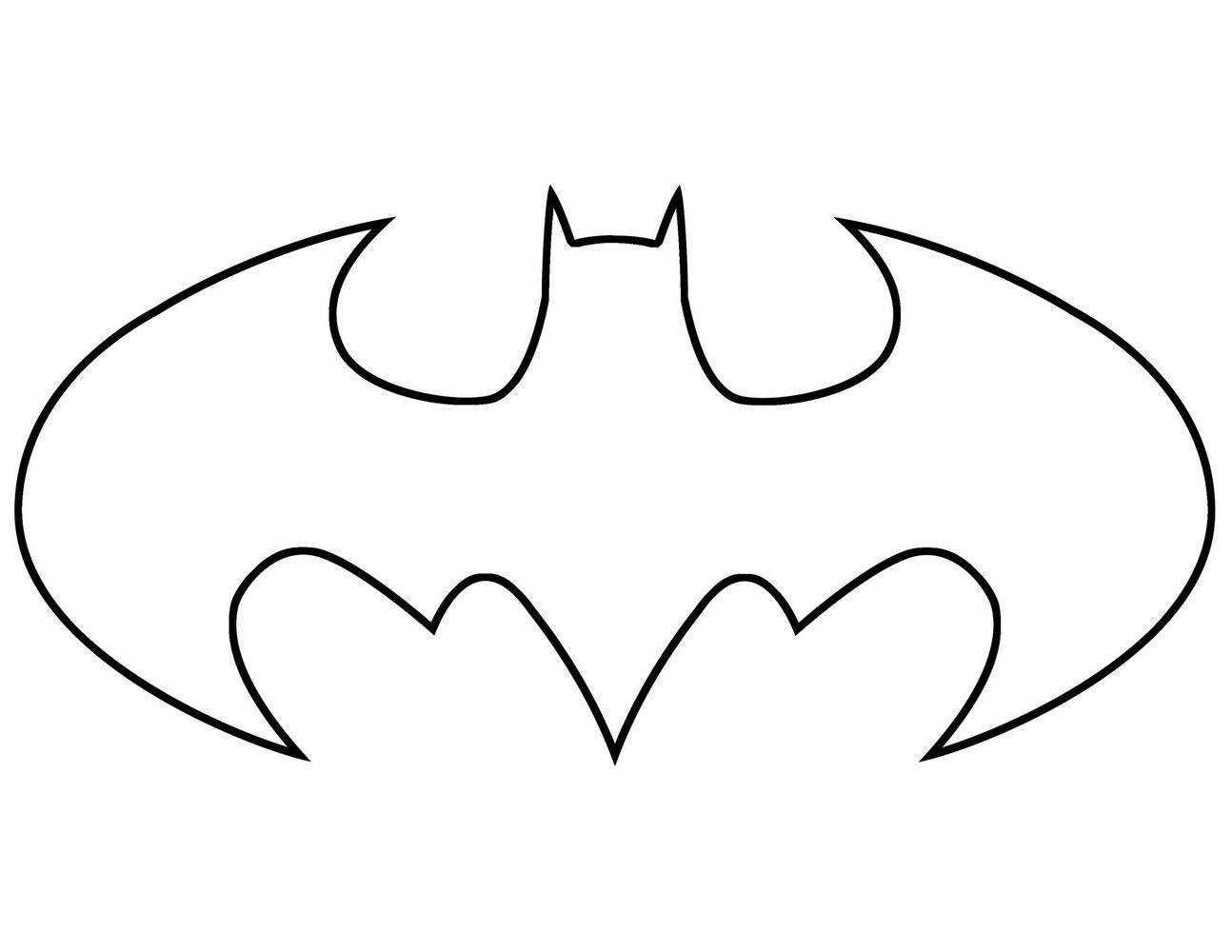 Batman Cake Template