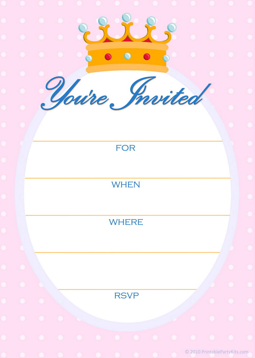 Birthday Invites Templates