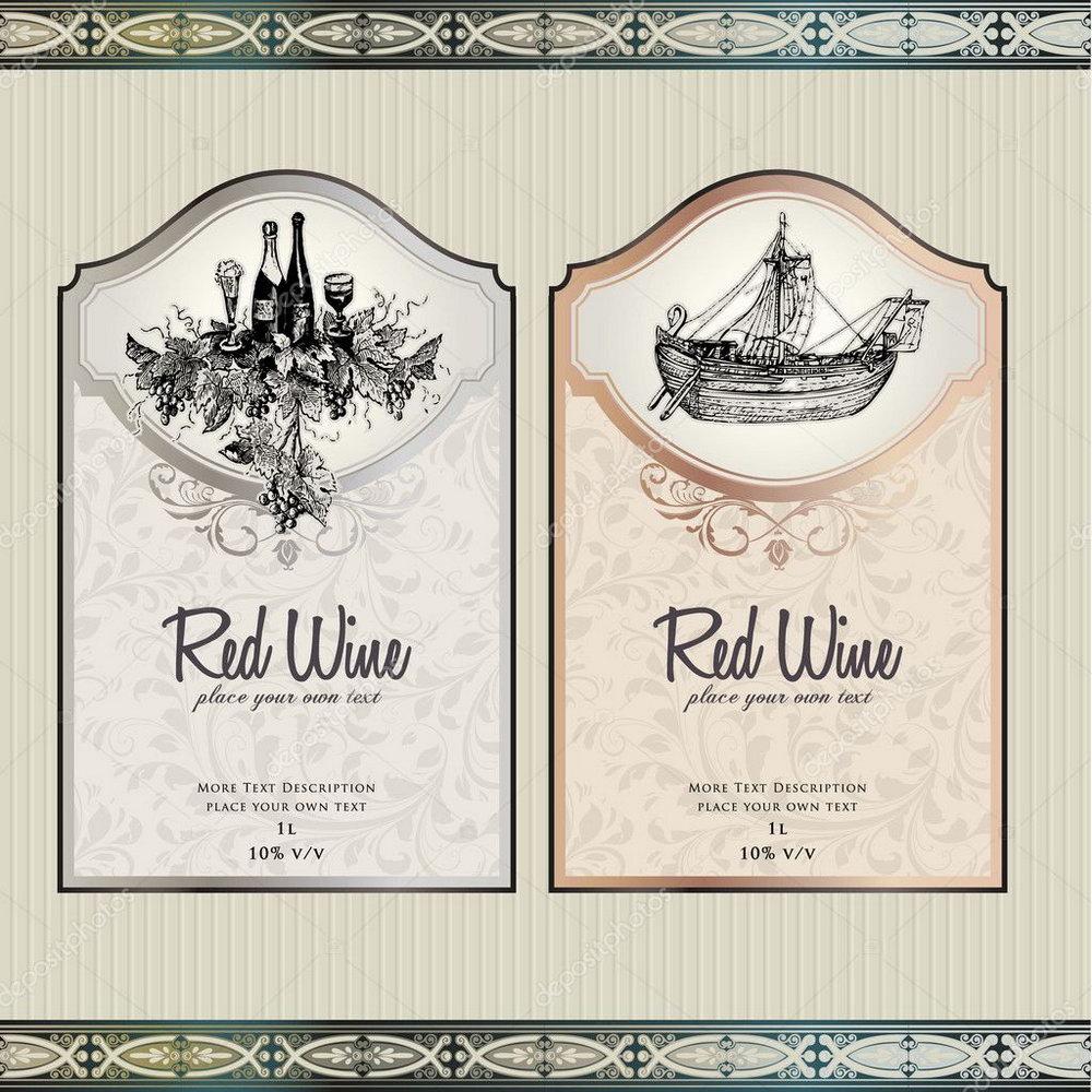 Birthday Wine Label Template Free