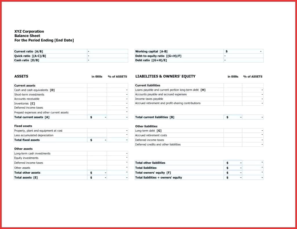 Blank Amortization Schedule Template