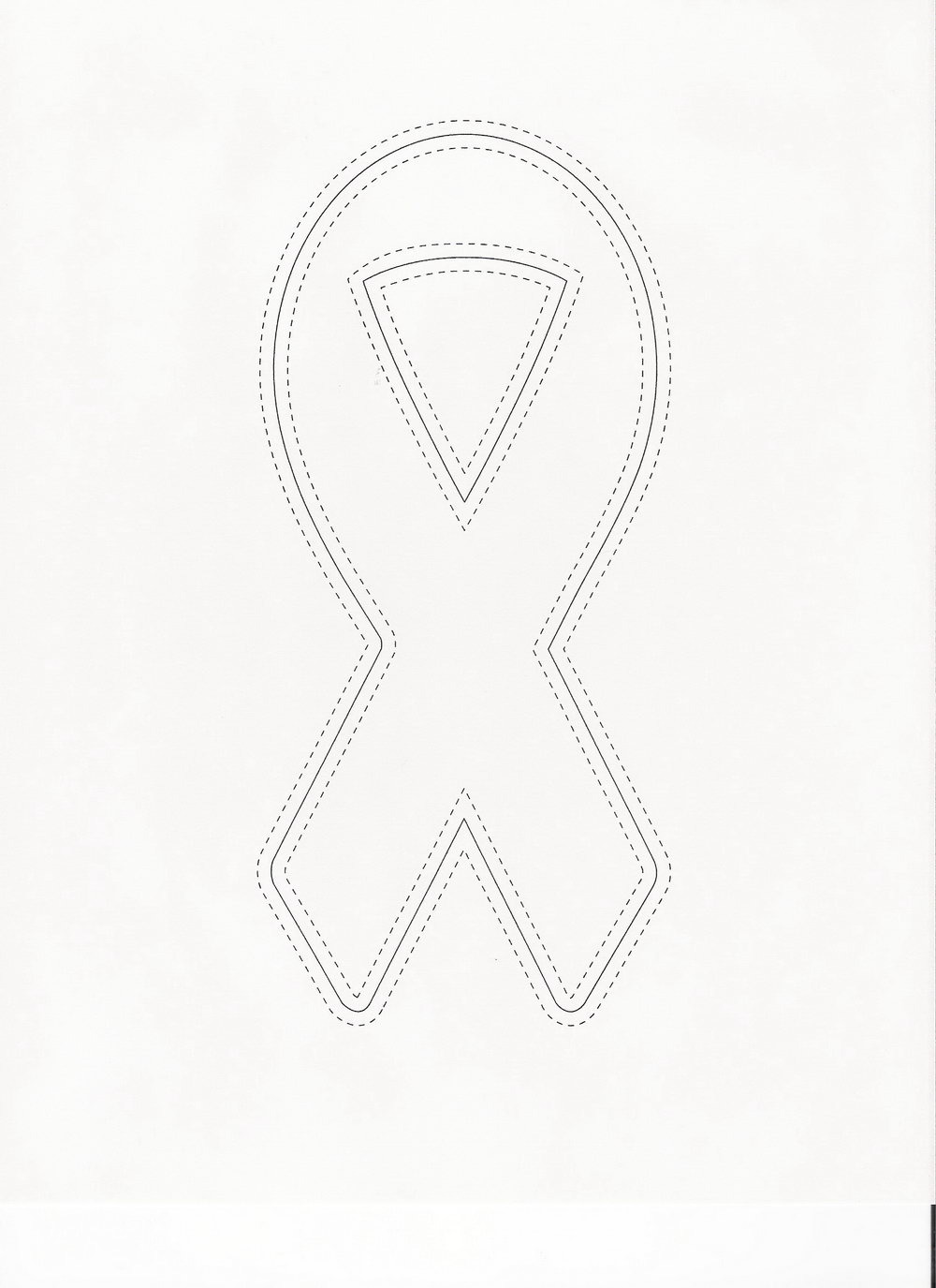 Breast Cancer Ribbon Template Download