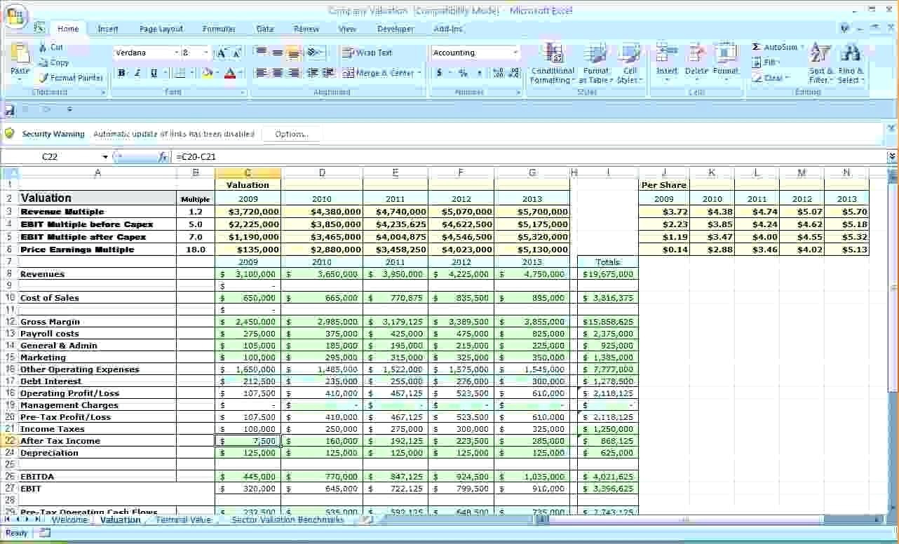 Canada Pay Stub Template Excel