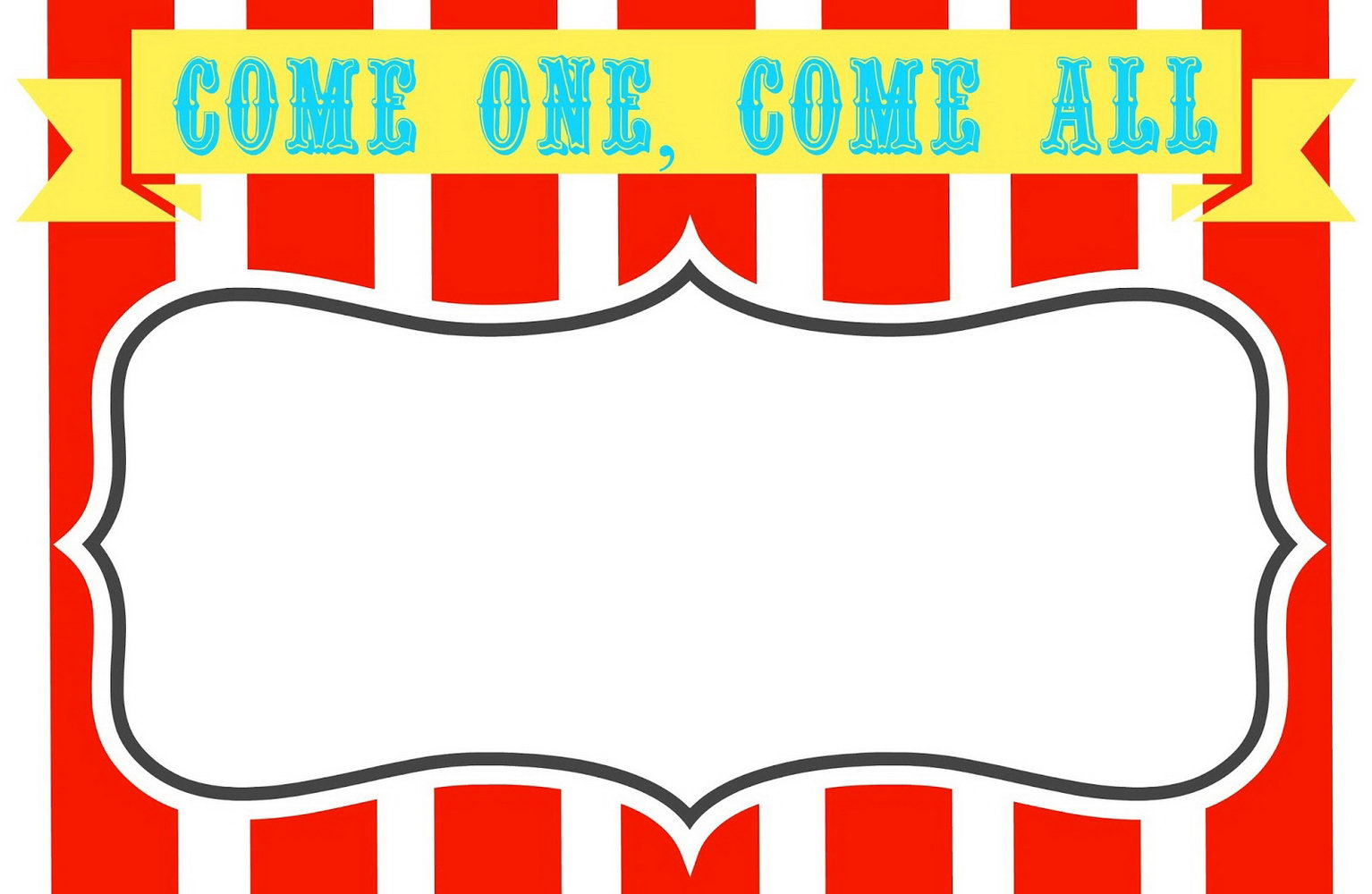 Carnival Ticket Template Free
