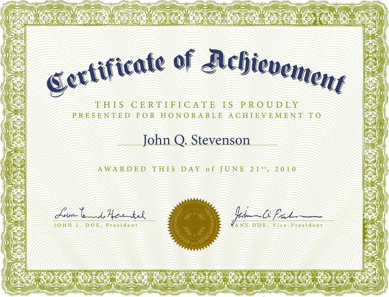 Certificate Of Appreciation Templates Psd