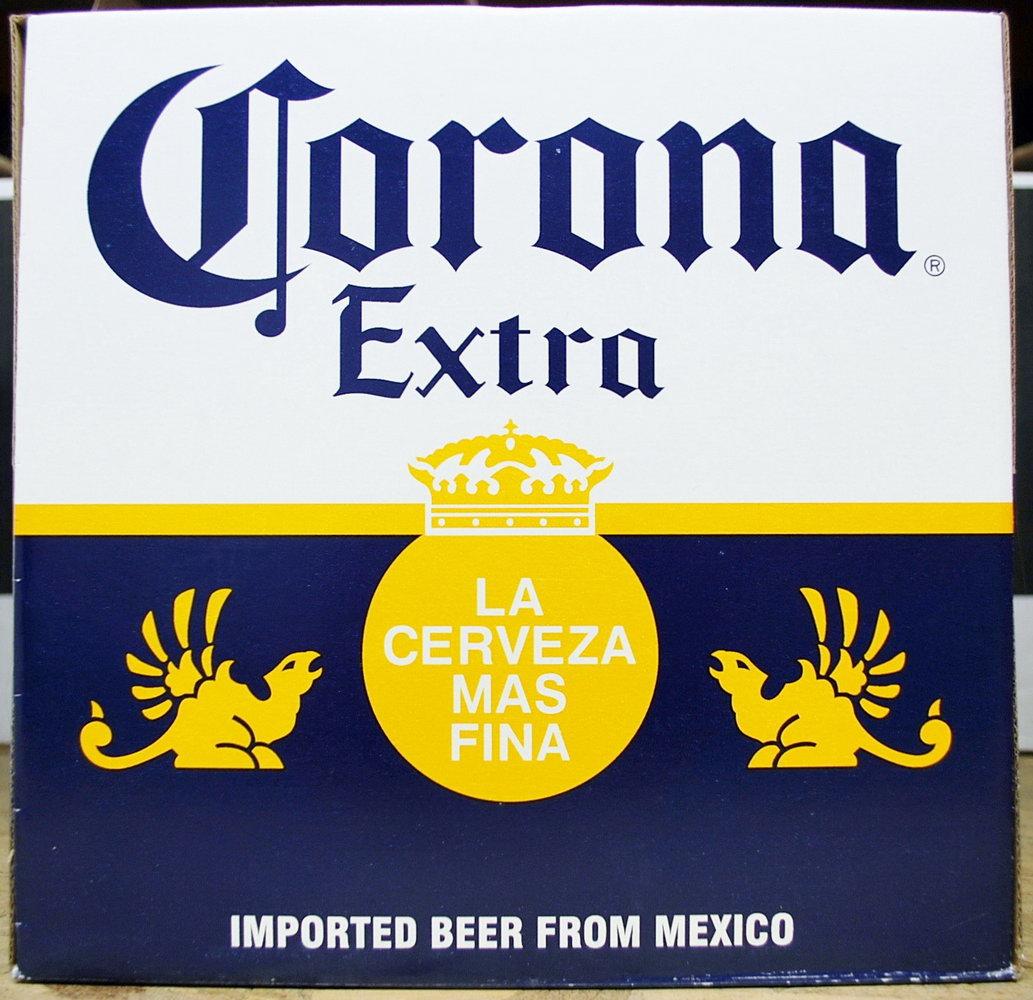 Corona Beer Label Template