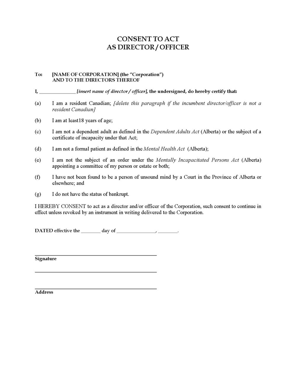 Corporate Bylaws Template Free
