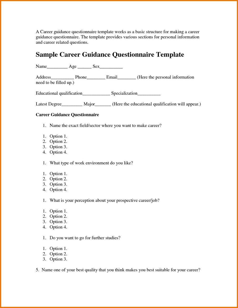 Customer Satisfaction Survey Template Pdf