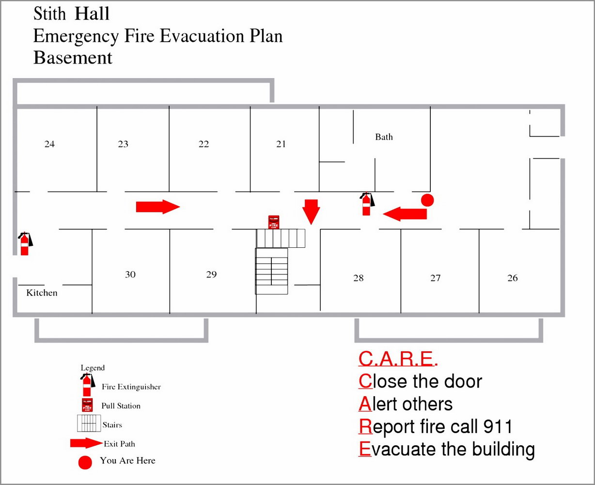Emergency Evacuation Plan Template Ontario