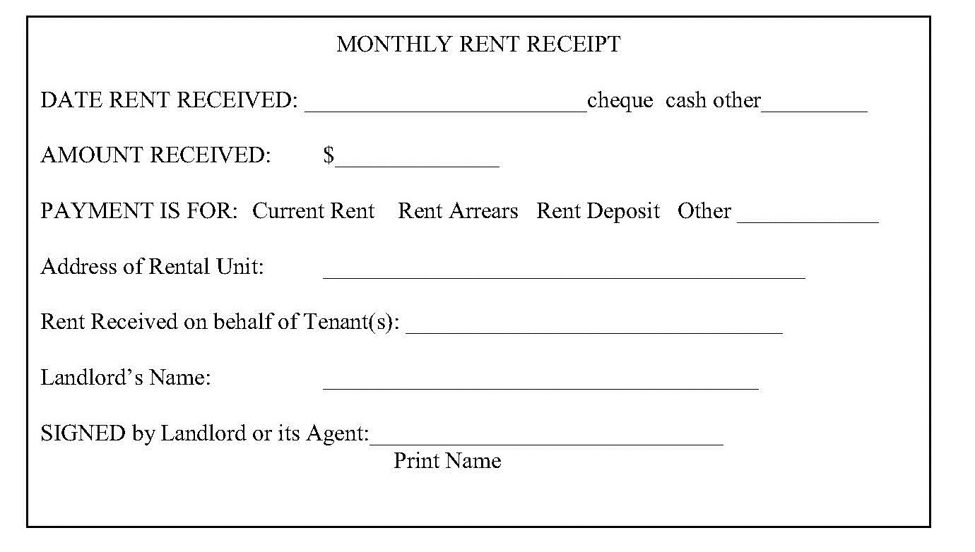 Ground Rent Invoice Template