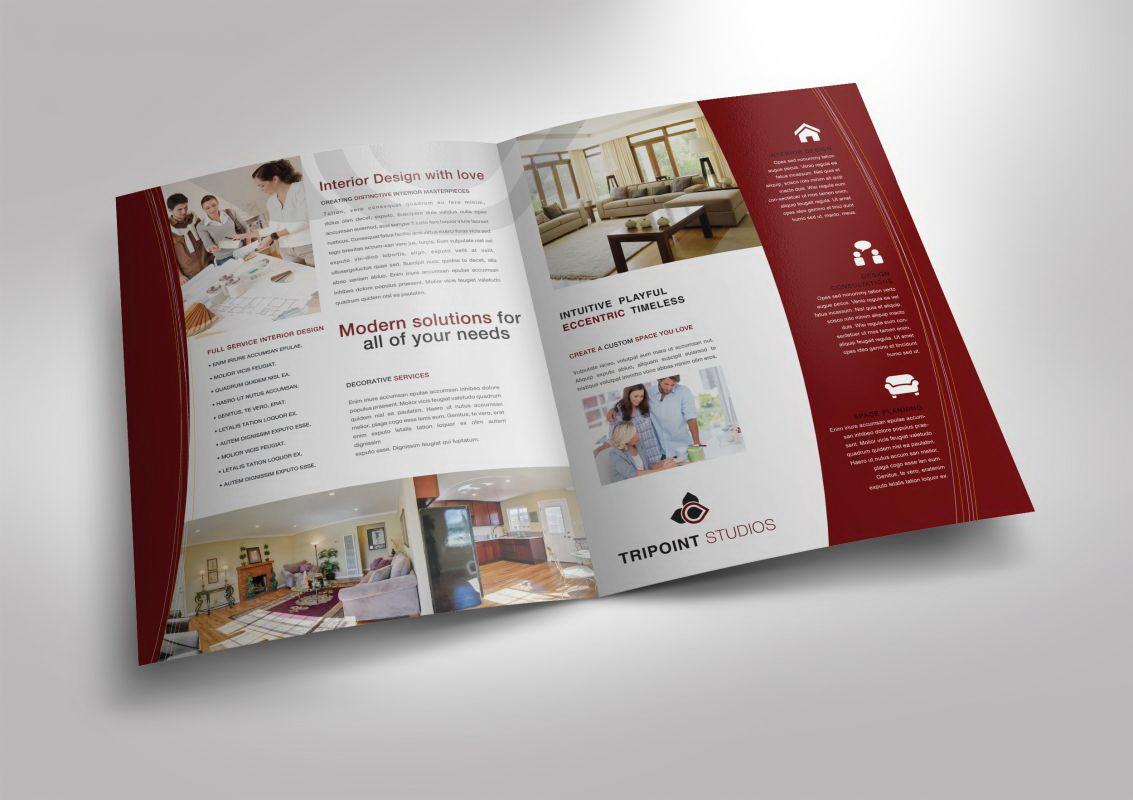 Half Fold Brochure Template Free