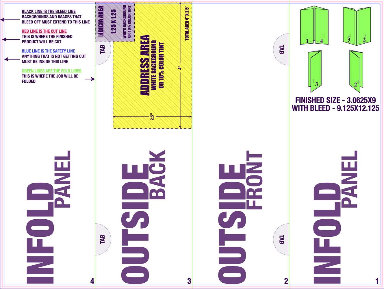 Half Fold Brochure Template Microsoft Word