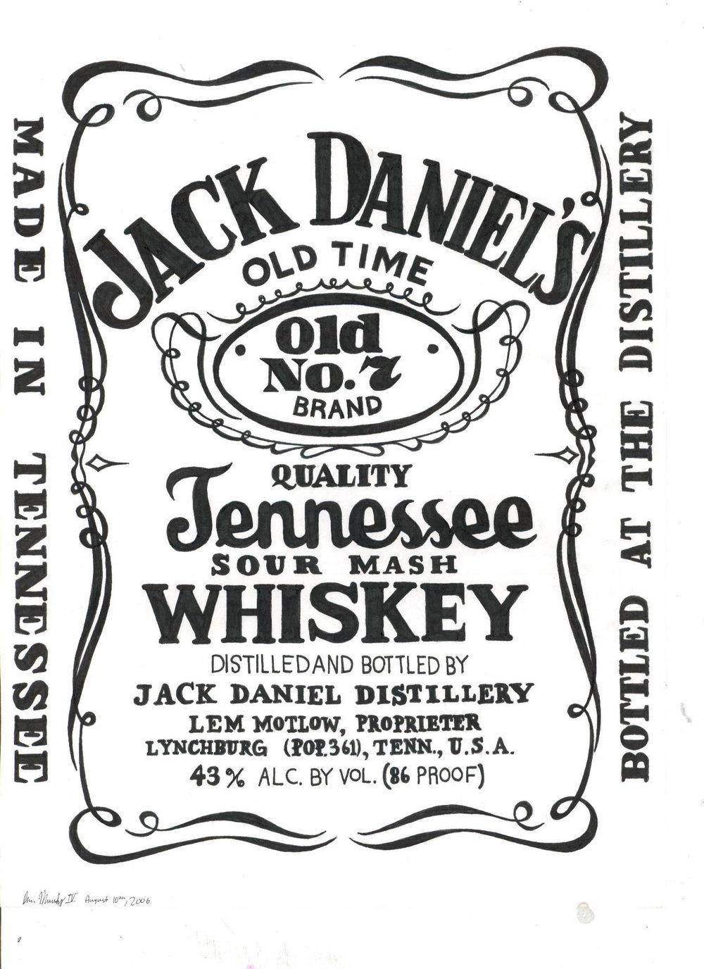 Jack Daniels Best Man Label Template