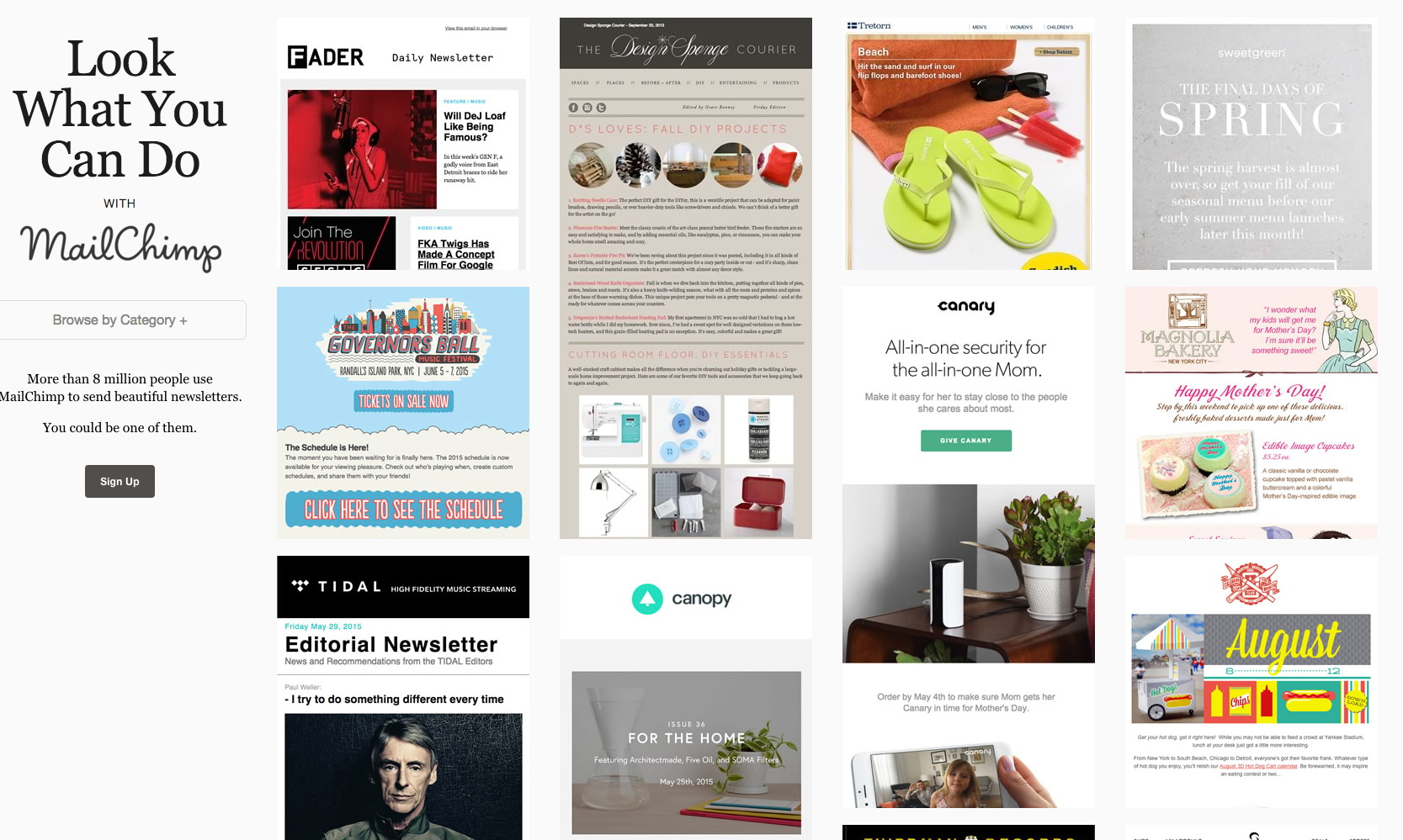 Mailchimp Email Templates