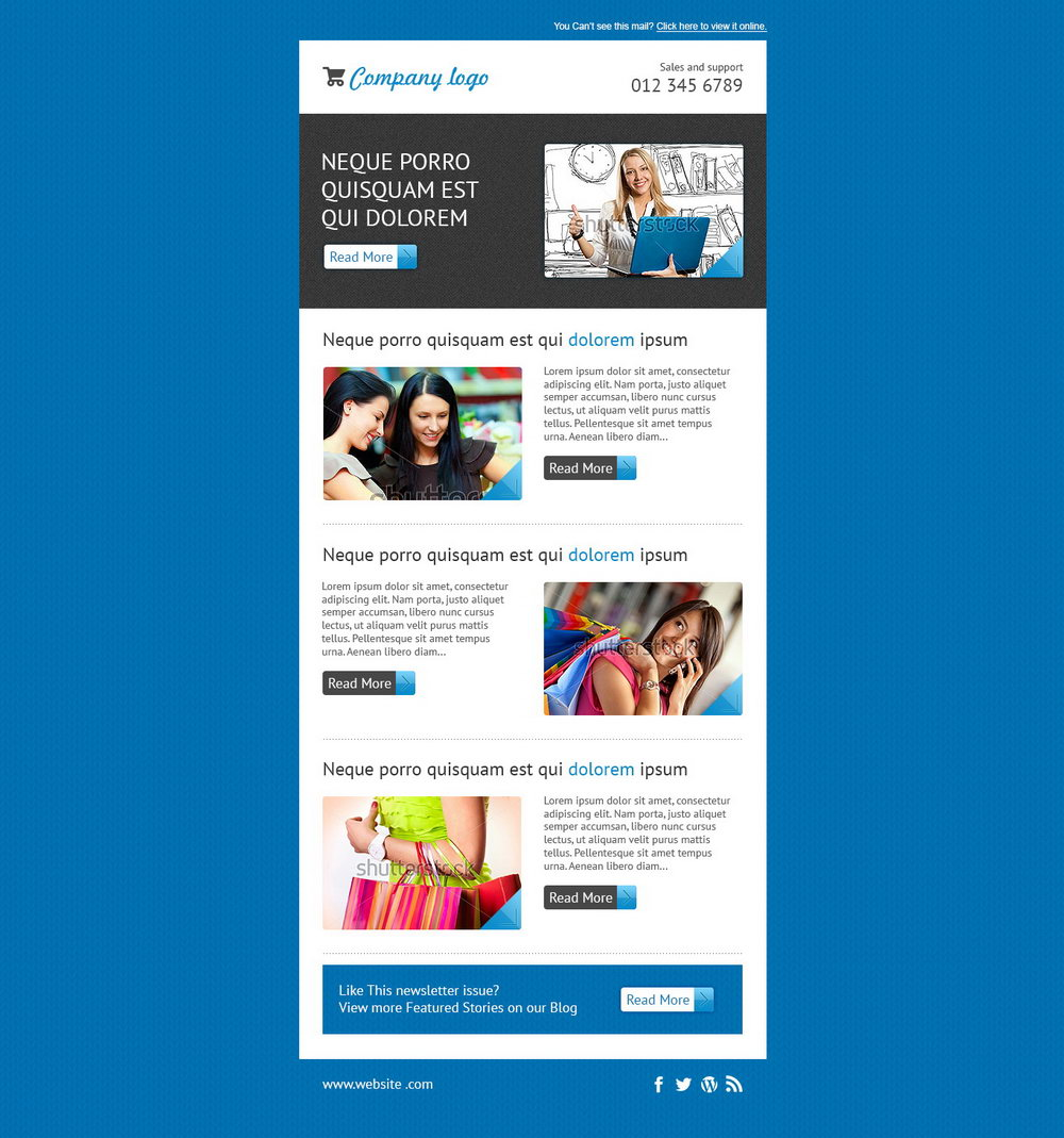 Mailchimp Newsletter Templates Free Download
