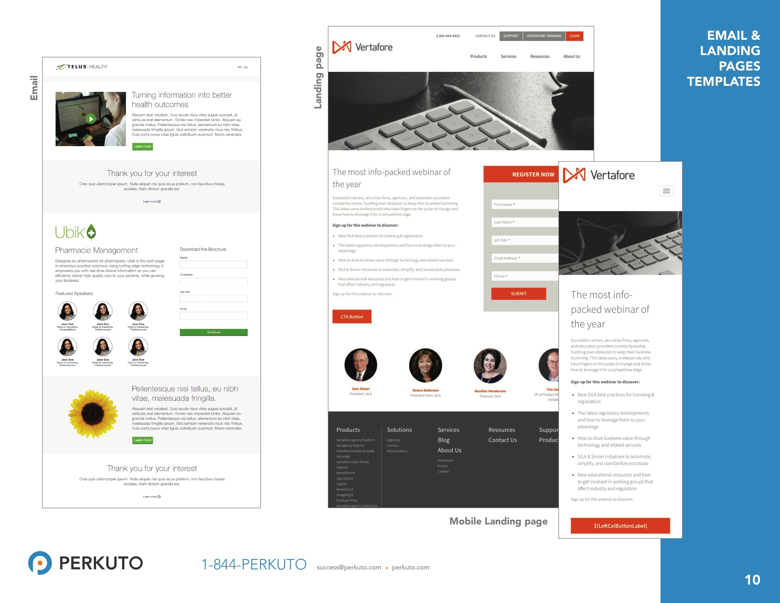Marketo Landing Page Templates Free