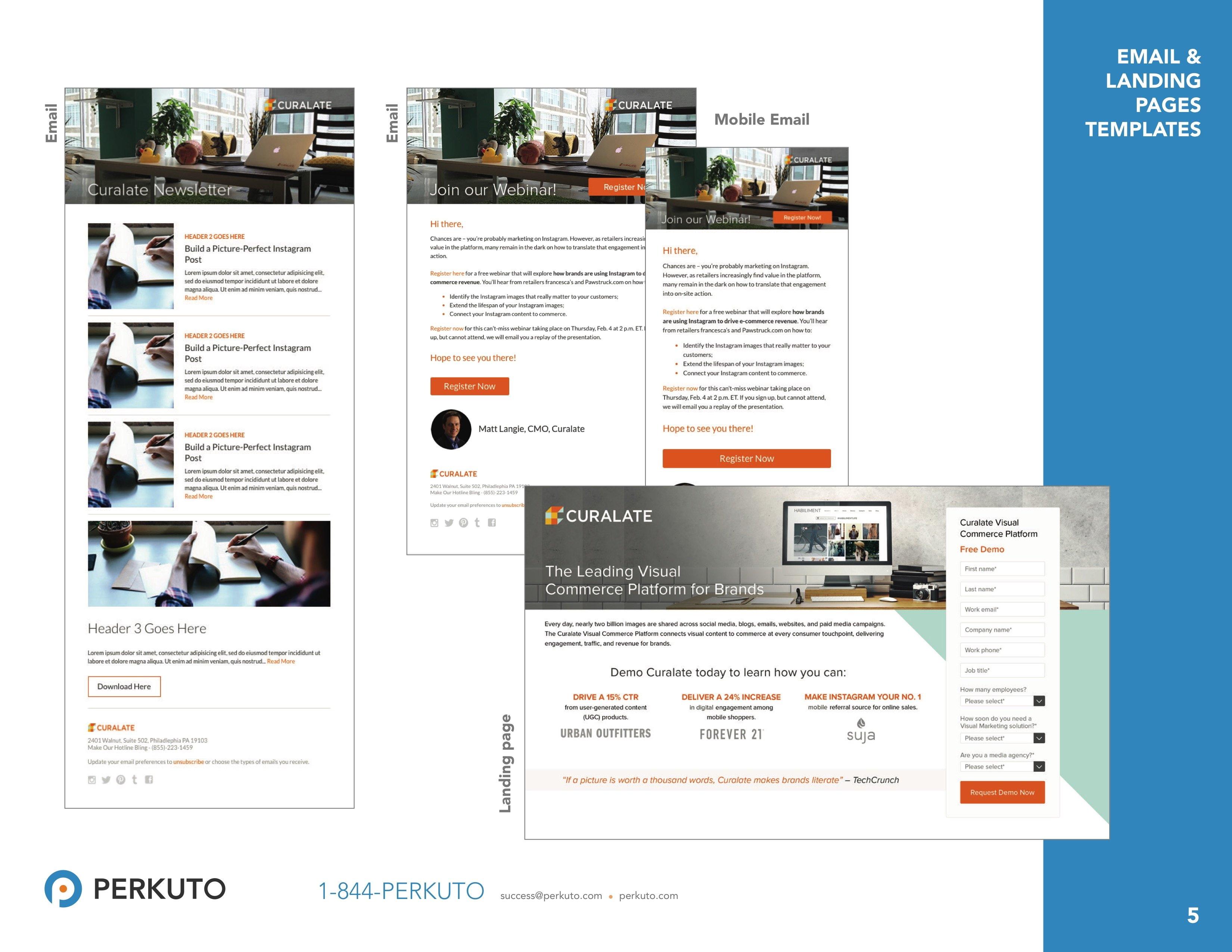 Marketo Landing Page Templates