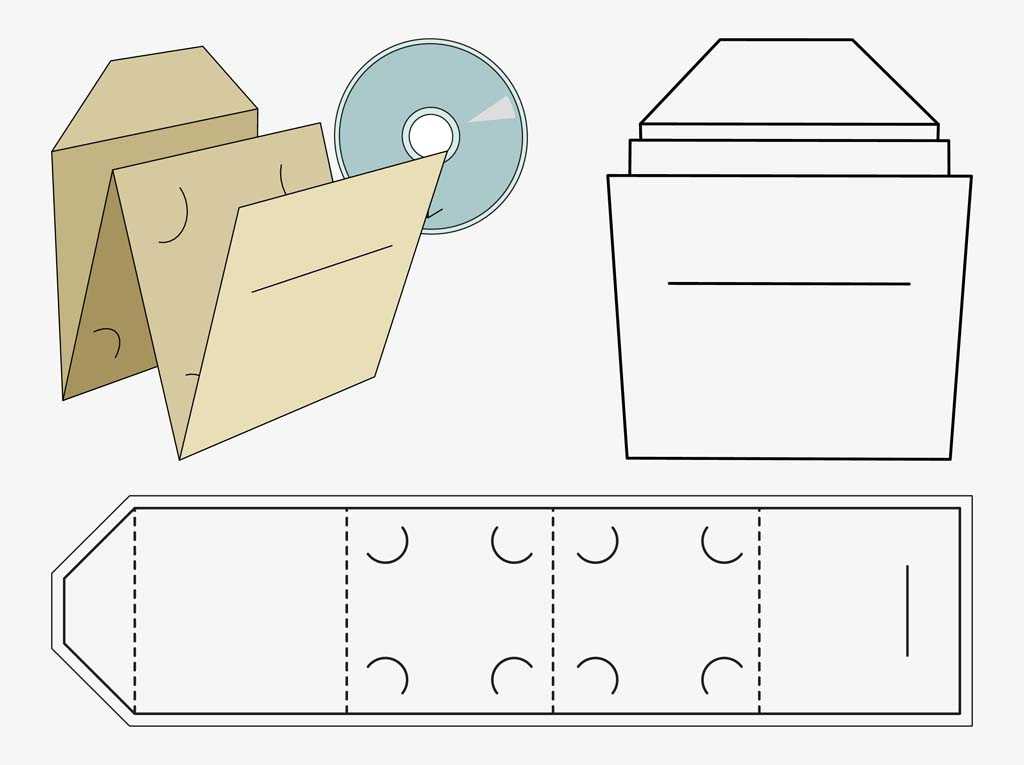 Paper Cd Sleeve Template Pdf