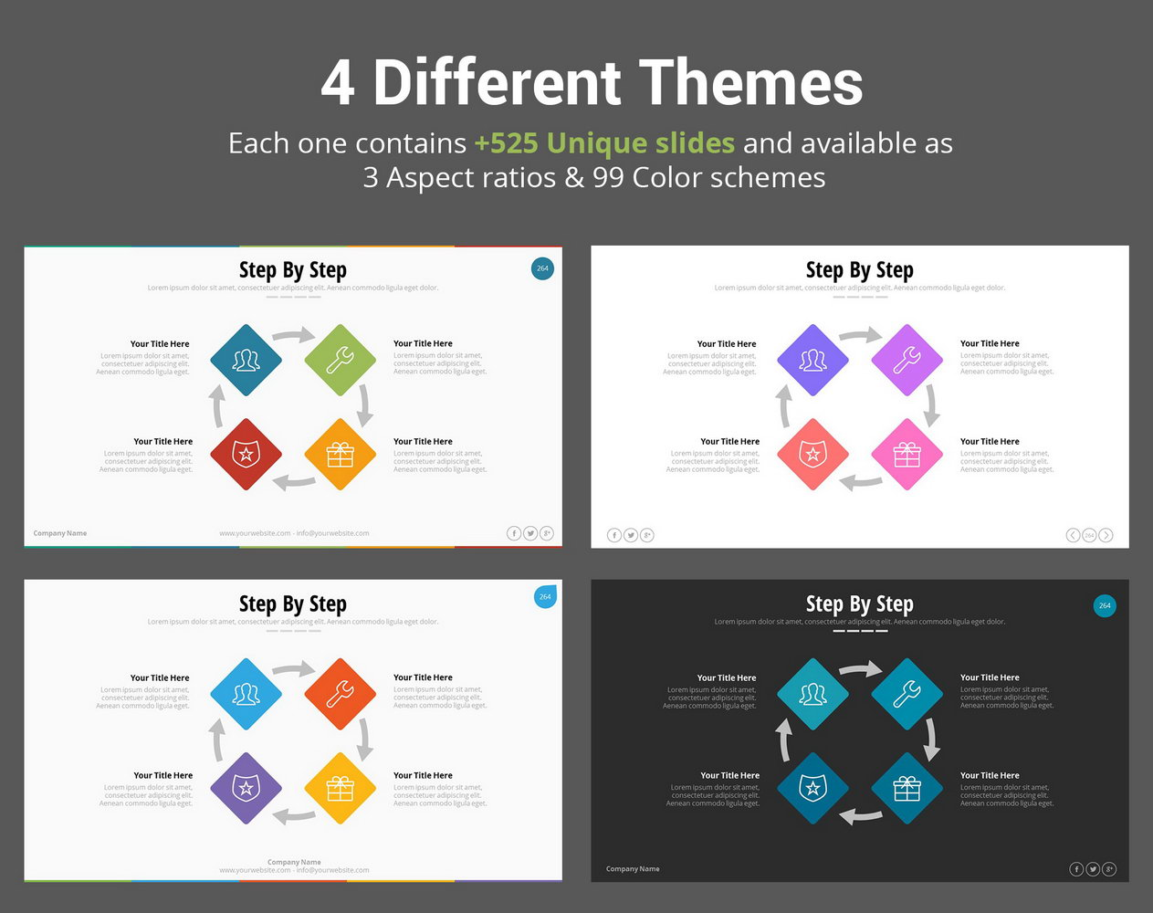 Pitch Deck Presentation Template Free Download