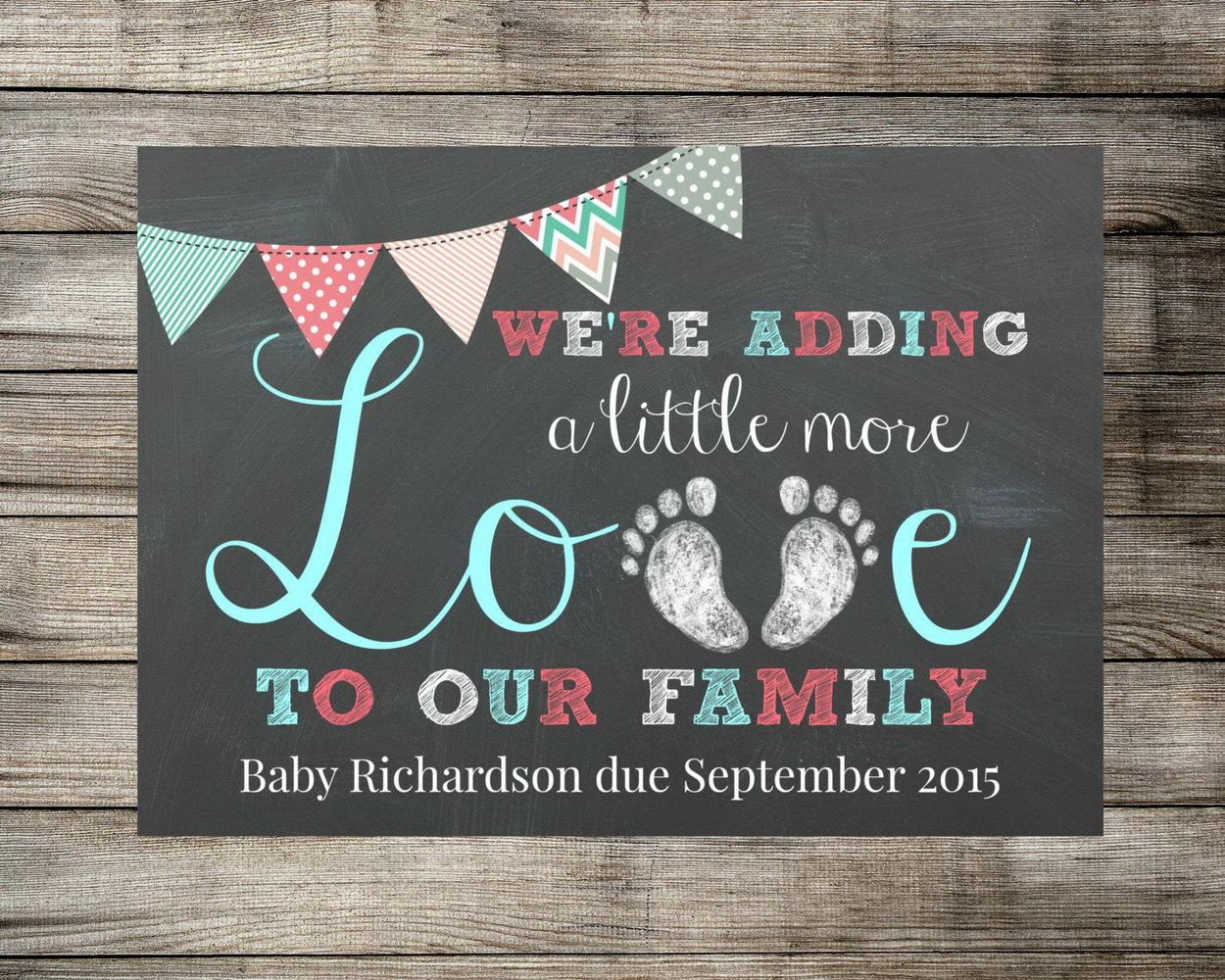 Pregnancy Announcement Templates
