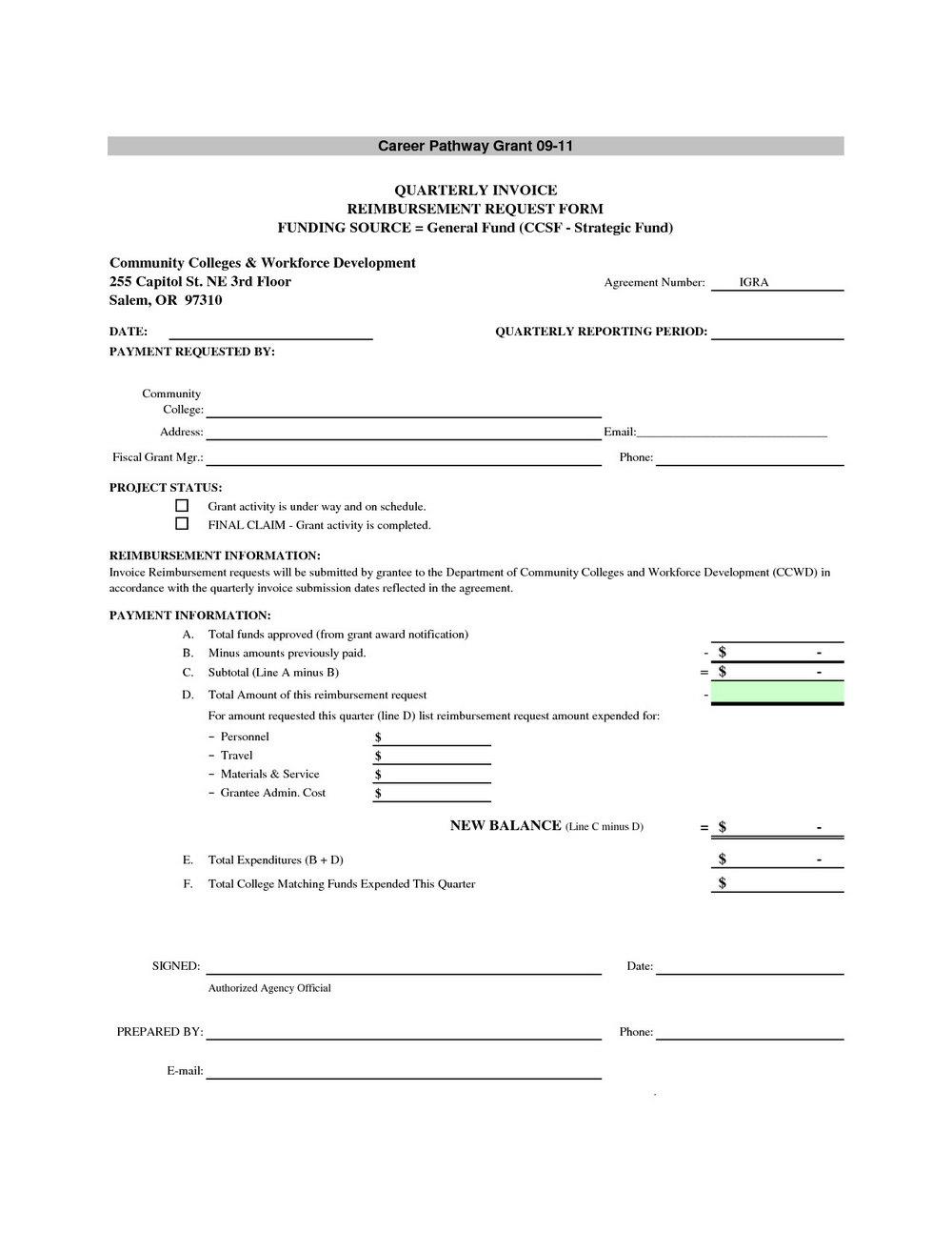 Proforma Invoice Template Word Doc