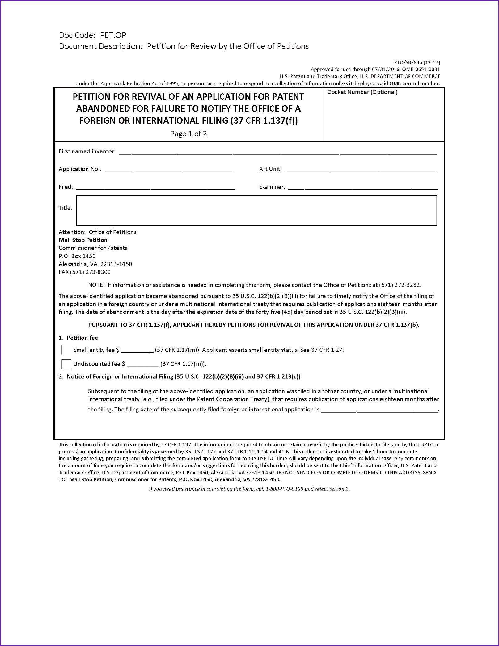 Provisional Patent Template Pdf