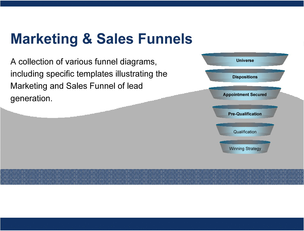 Sales Funnel Template Ppt