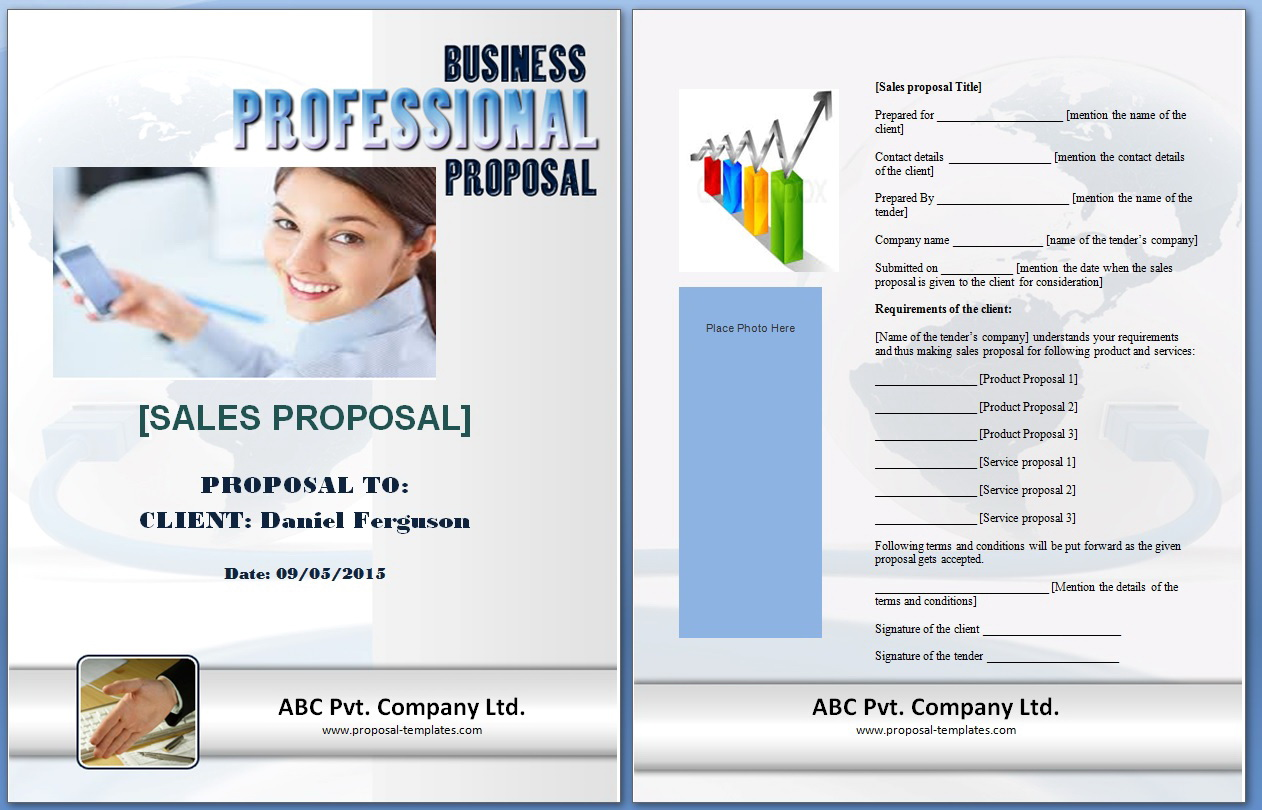 Sales Proposal Template Powerpoint
