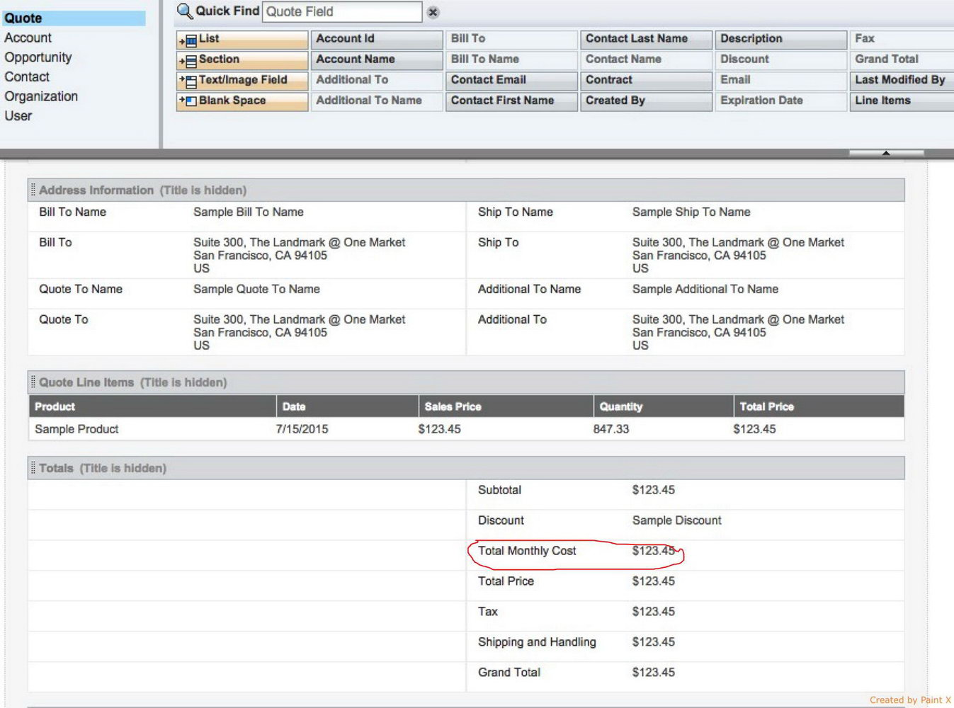 Salesforce Email Templates Fields