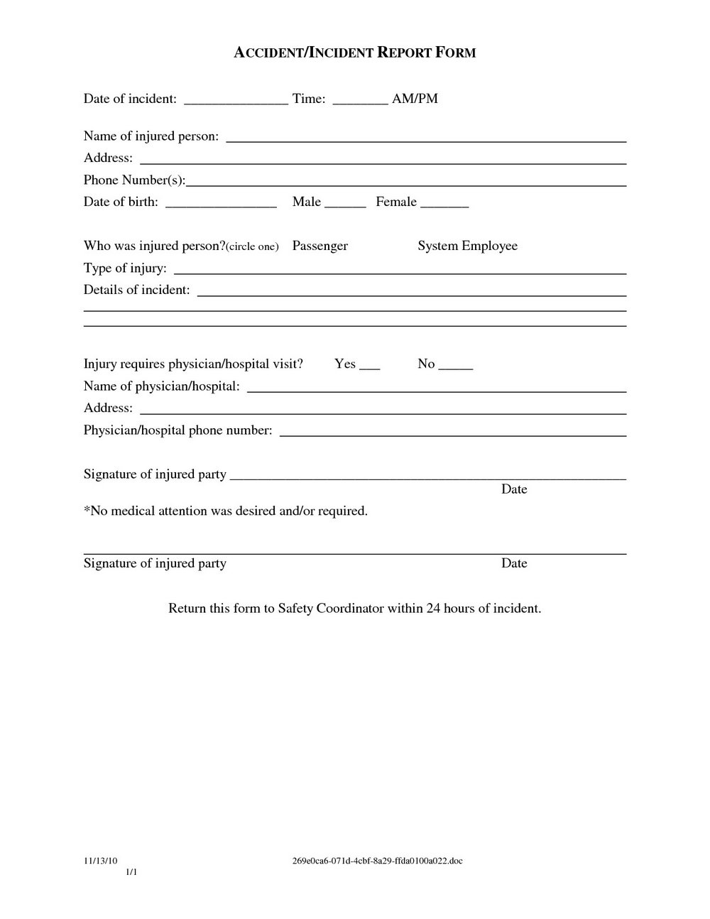 Simple Vehicle Purchase Agreement Template