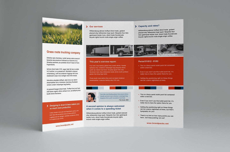 Travel Tri Fold Brochure Templates Free