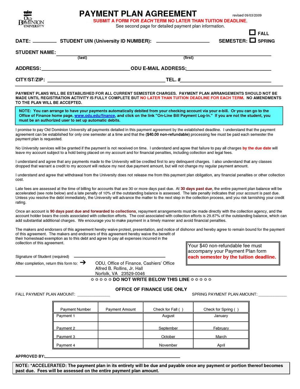 Vendor Finance Agreement Template