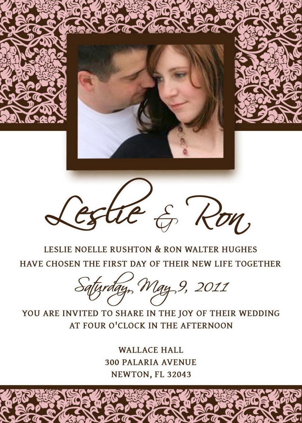 Wedding Announcement Templates