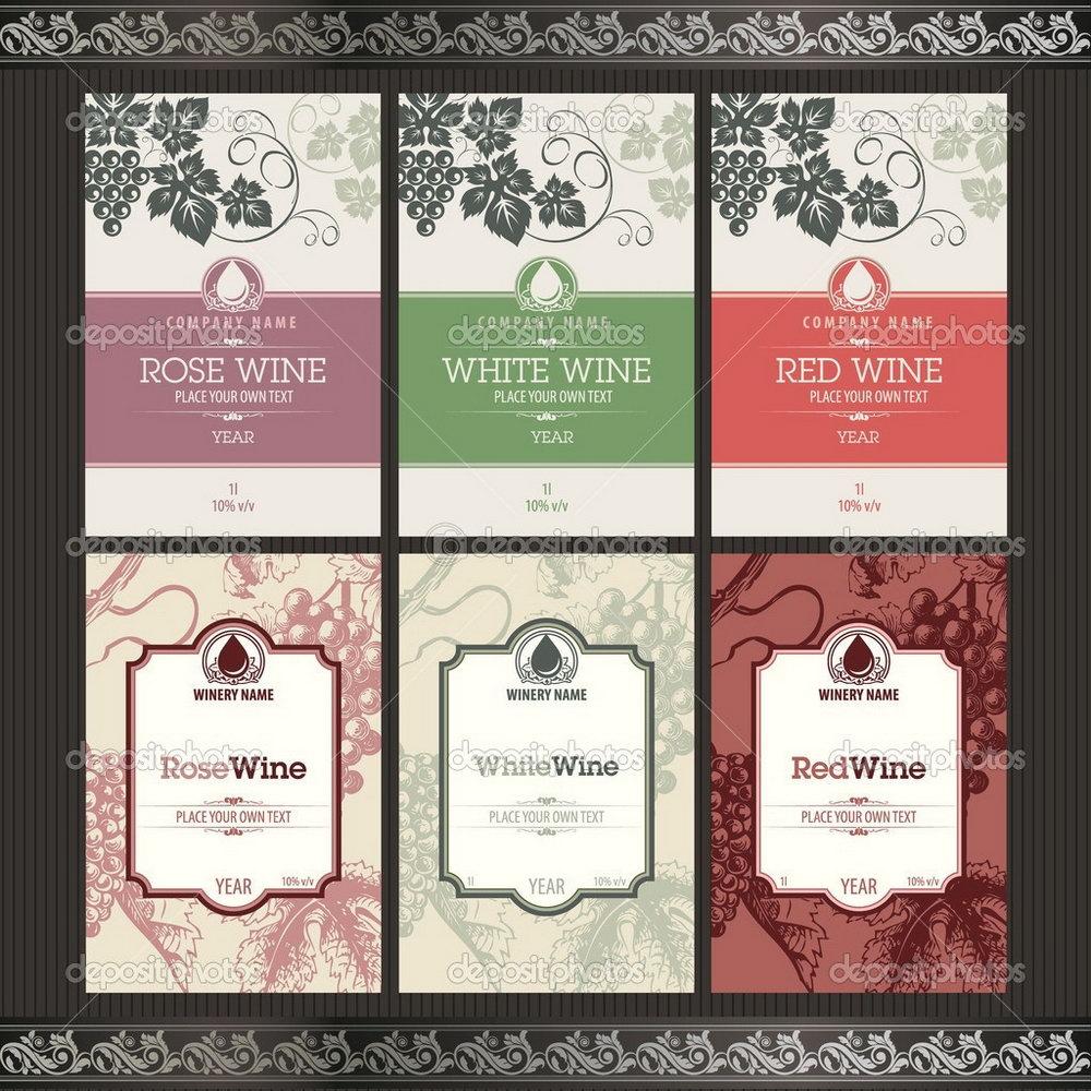 Wine Label Template Free