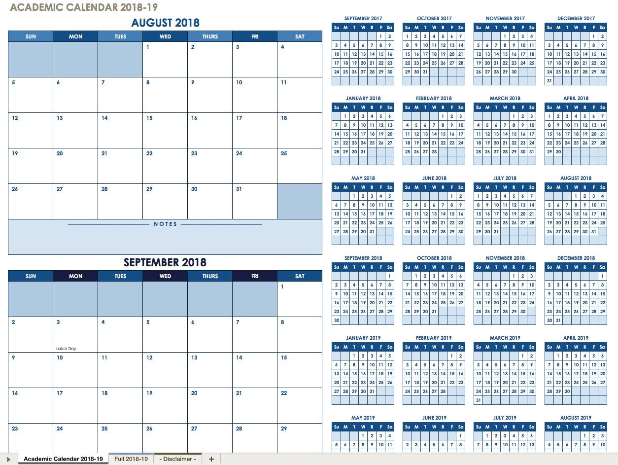 2019 Payroll Calendar Template