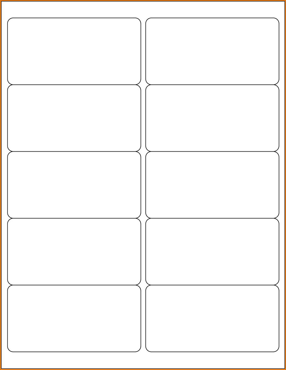 2×4 Label Template Google Docs