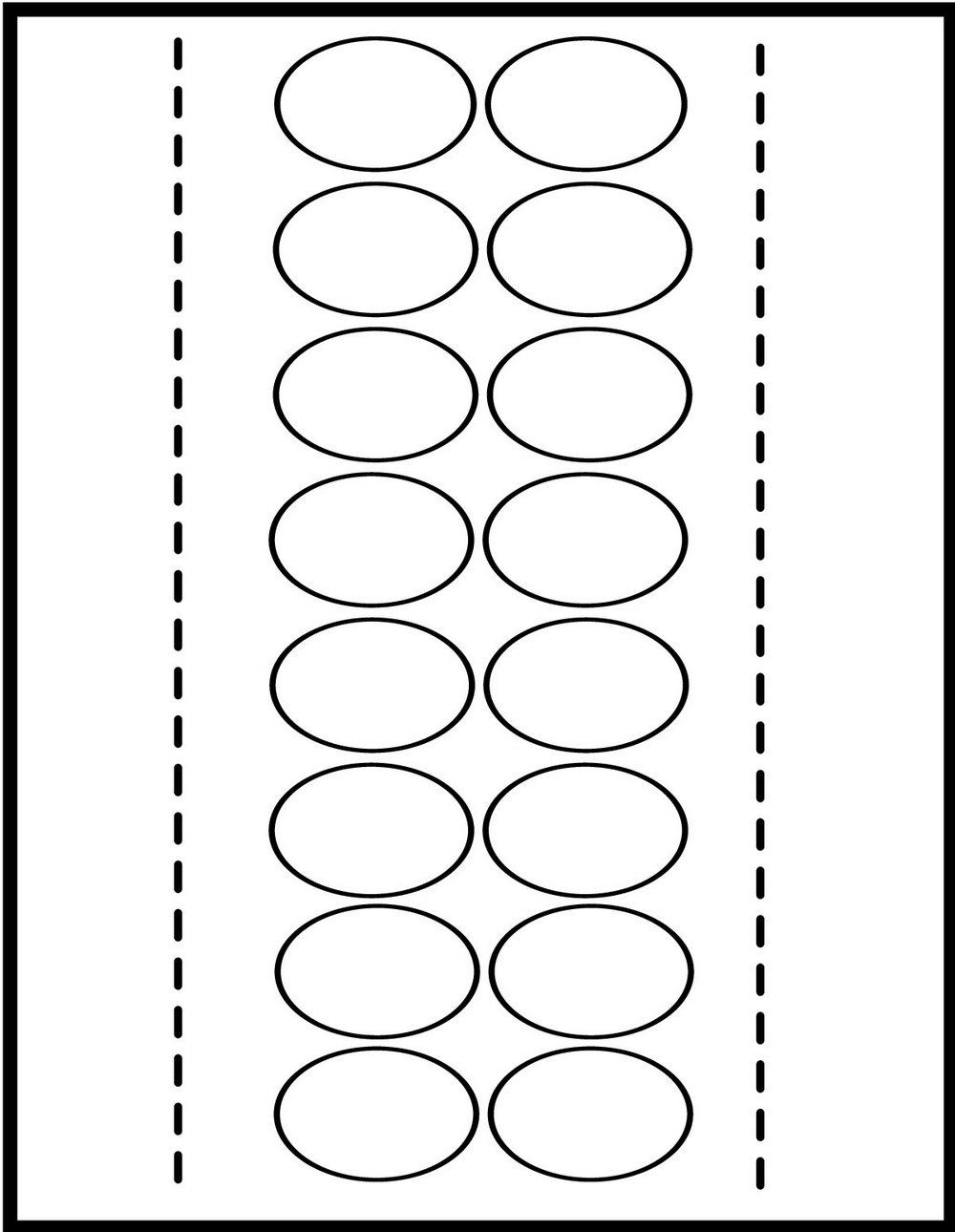 Avery Divider Tab Inserts 5 Template