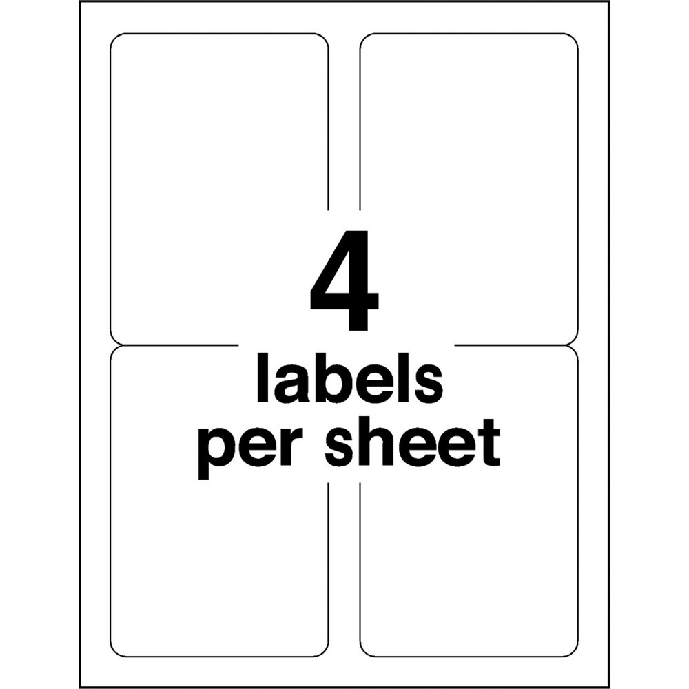 Avery File Folder Labels Template 8 Per Sheet