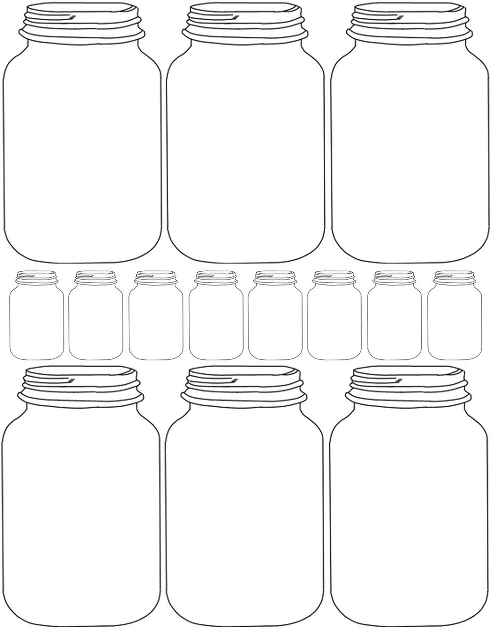Ball Canning Jar Label Templates