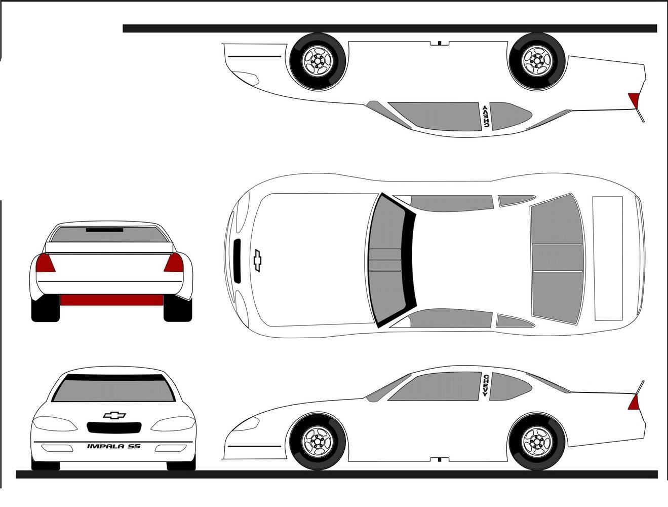 Car Wrap Design Templates