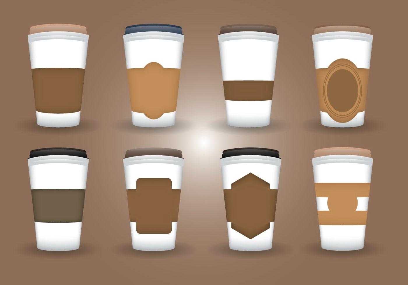 Coffee Sleeve Template Psd