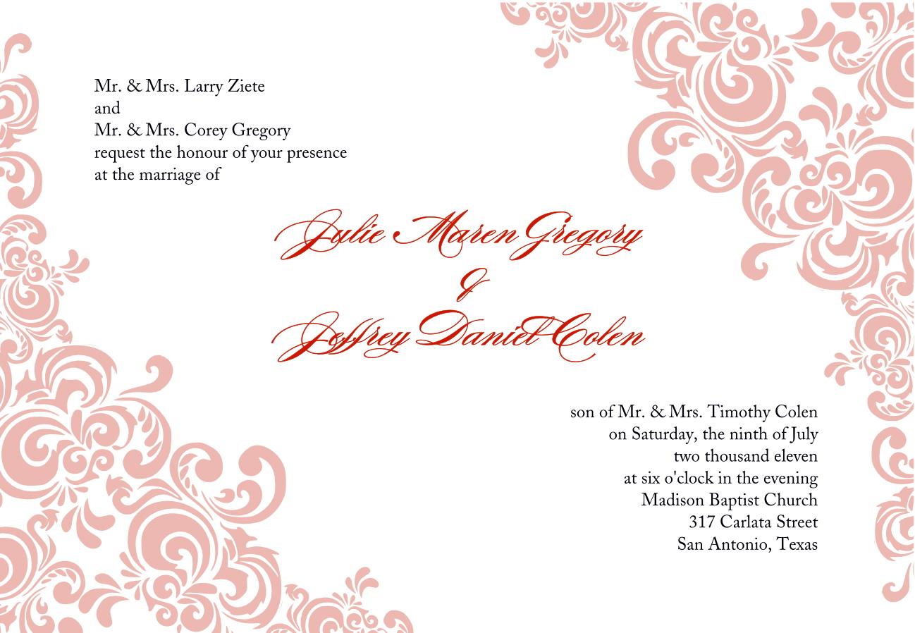 Fancy Dress Invitation Templates Free