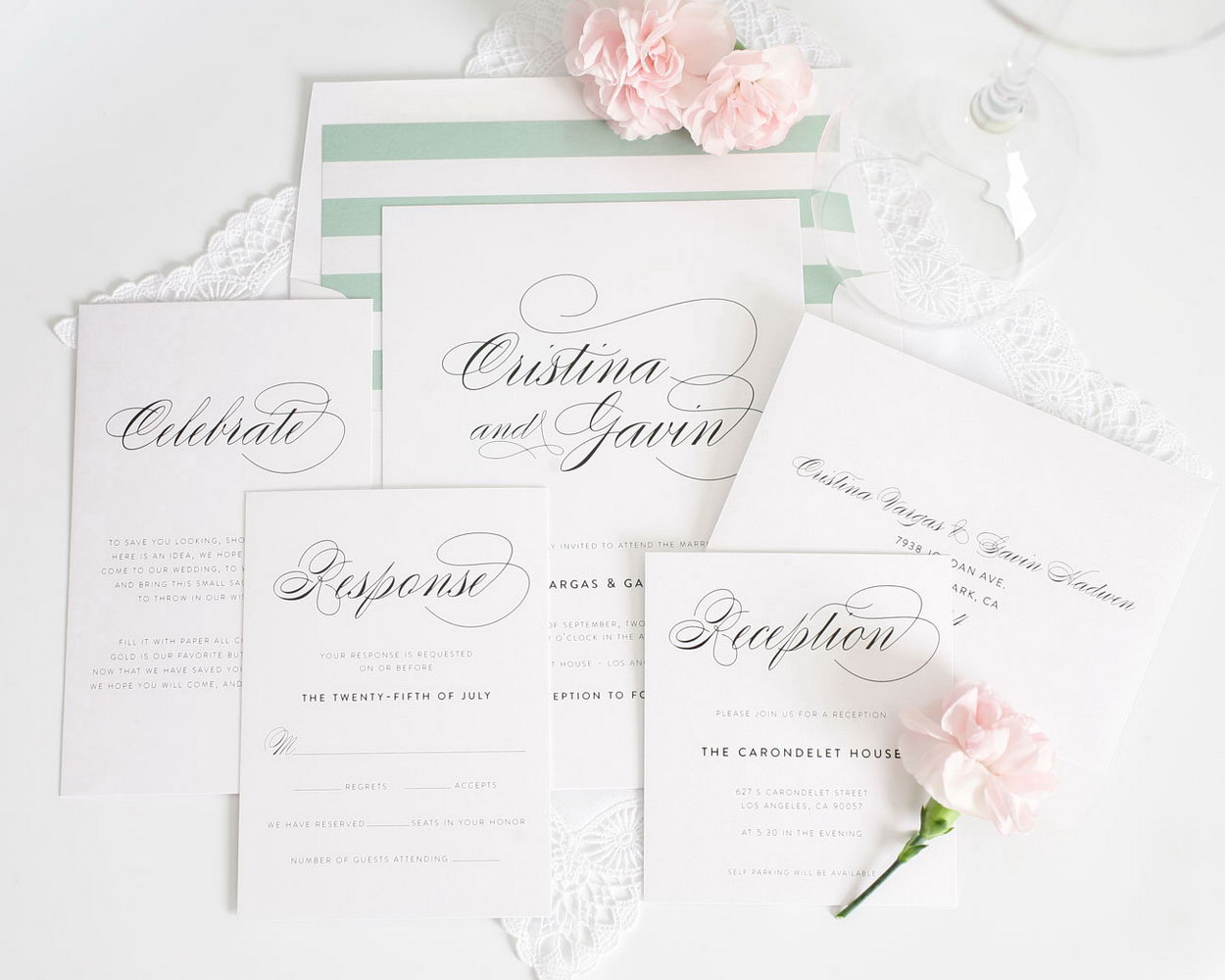 Fancy Wedding Invitation Templates
