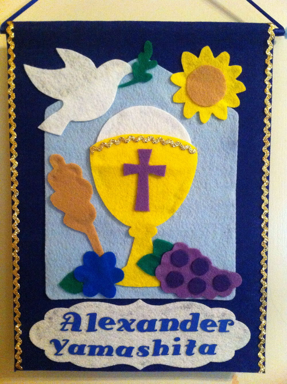 First Communion Banner Templates
