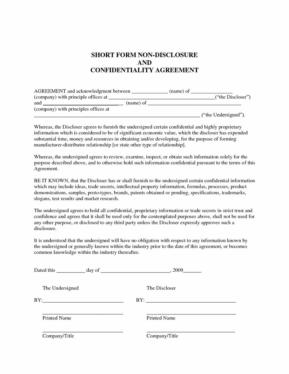 Hipaa Business Associate Agreement Template Word