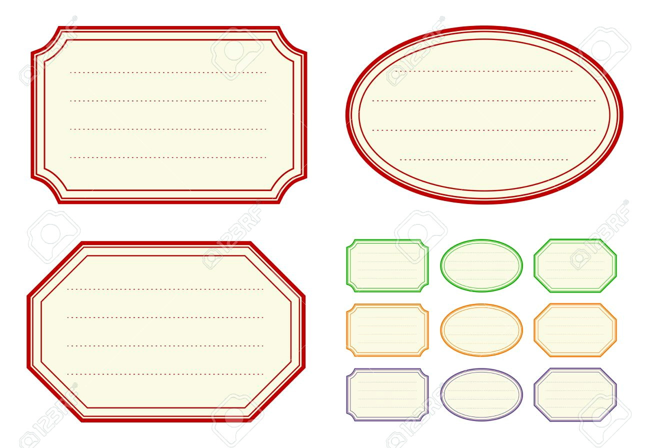 Jar Label Template Word