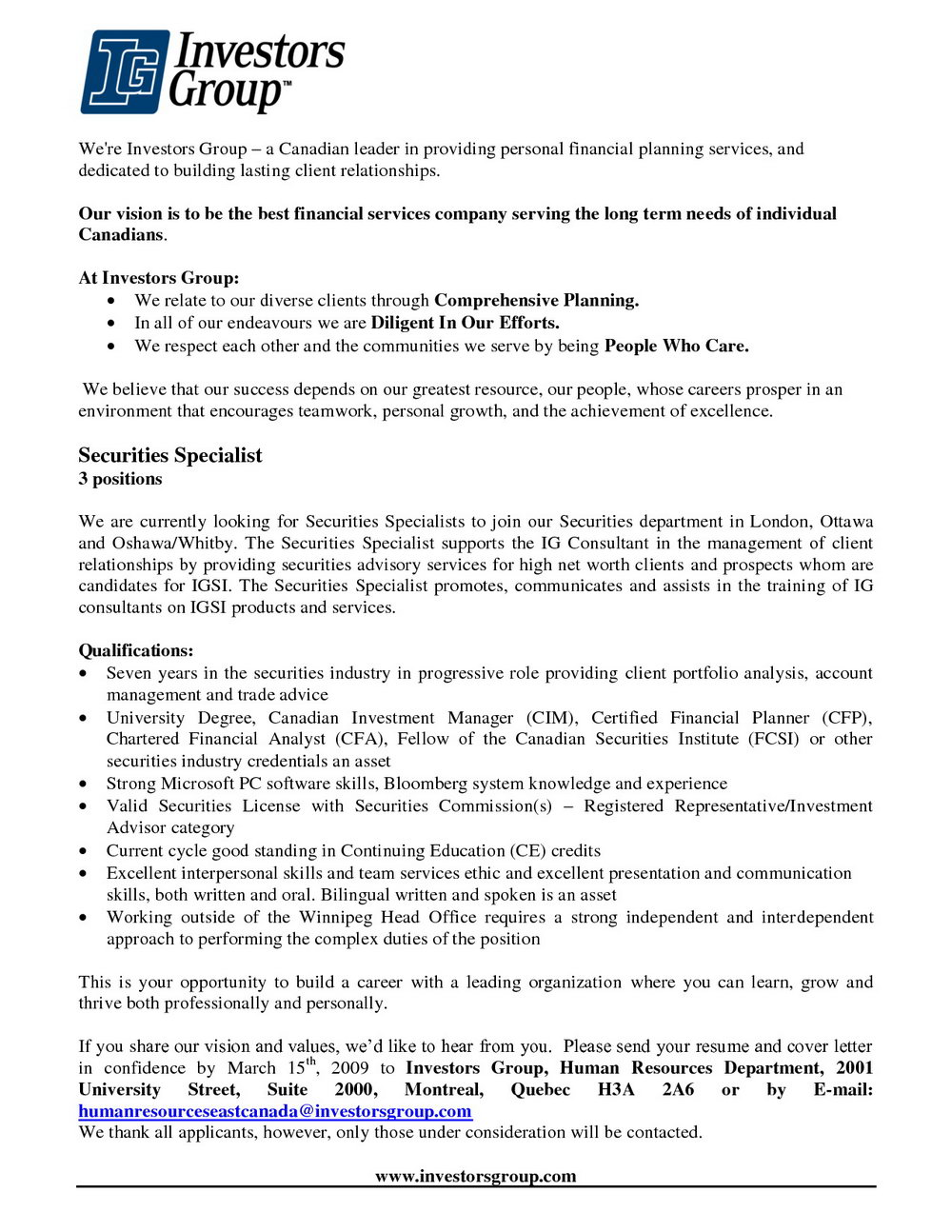 Job Advertisement Template