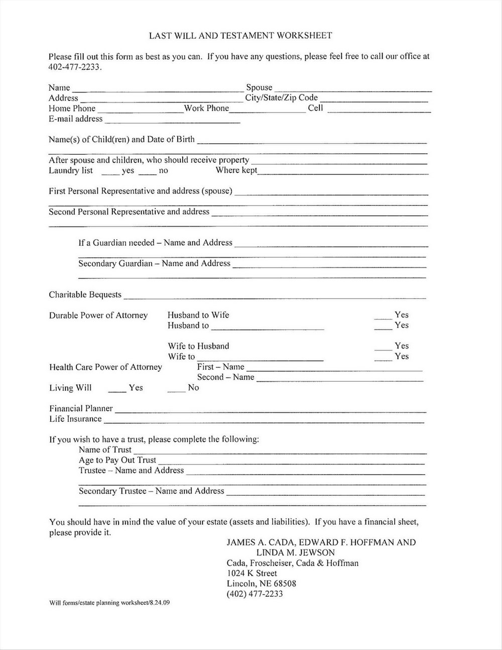 Last Will And Testament Template Free Download Uk